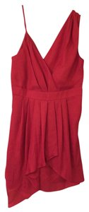 BCBGeneration short dress Lipstick (dark pink) on Tradesy