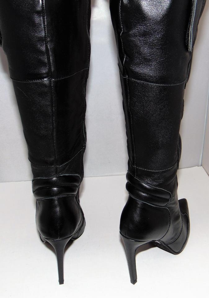 Campbell Knee Biker Jeffrey Over US 6 Padded BootsBooties Motomama Size 5 Black RegularMB81off retail 8vNnm0w
