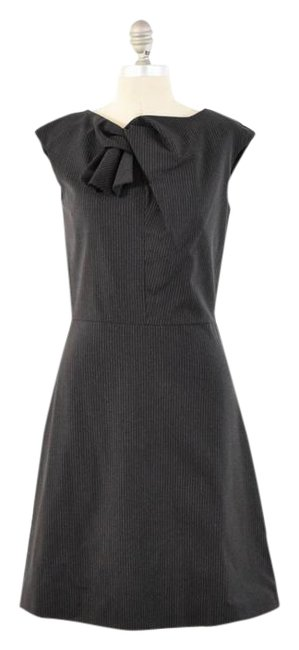 Item - Gray Fit & Flare Short Work/Office Dress Size 2 (XS)