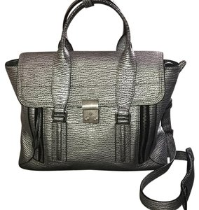3.1 Phillip Lim Satchel in Silver