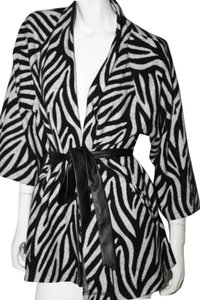 Lafayette 148 New York Zebra Print Multicolor Jacket