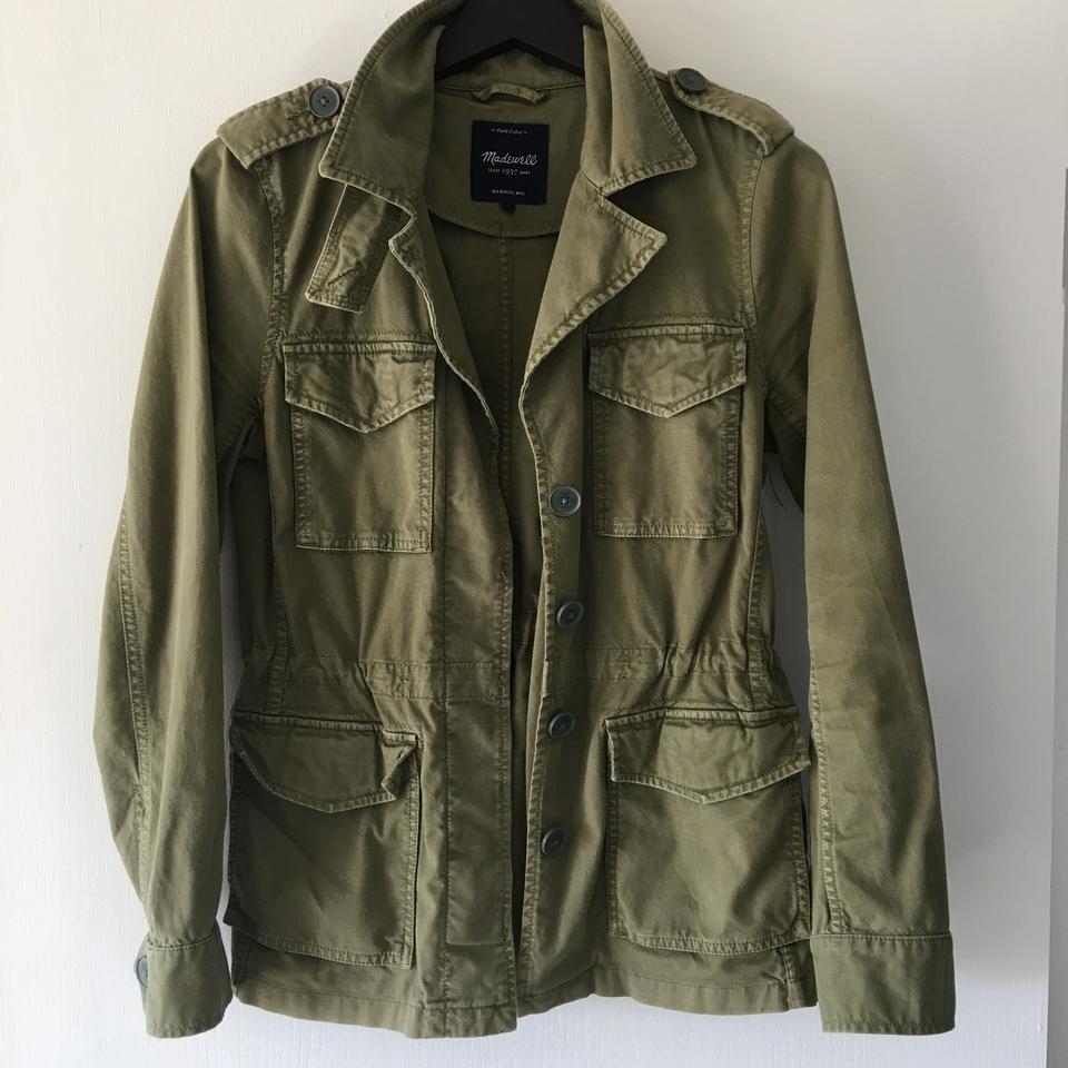 Miltary Green Madewell Jacket Madewell Green RTwqBB