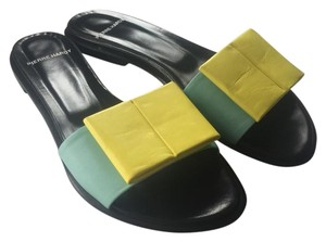 Pierre Hardy Hardy Mule green yellow Sandals
