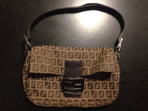 Fendi Vintage Canvas Baguette