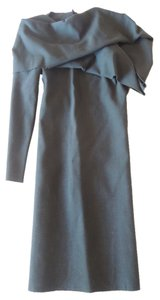 Lanvin One Sleeve Asymmetrical Dress