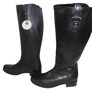 Blondo Tall Leather Waterproof New Without Box Black Boots