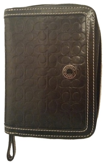 Coach Coach - Leather Wallet for electronic devices