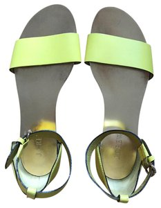 J.Crew canary yellow Sandals