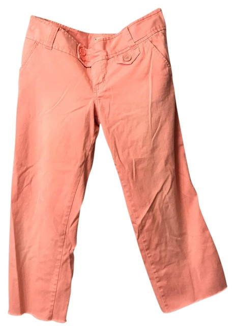 Item - Pink Cropped Capris Size 4 (S, 27)