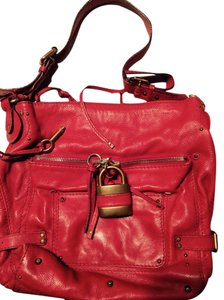 Chloe #chloe #padlock #hobo #red Hobo Bag