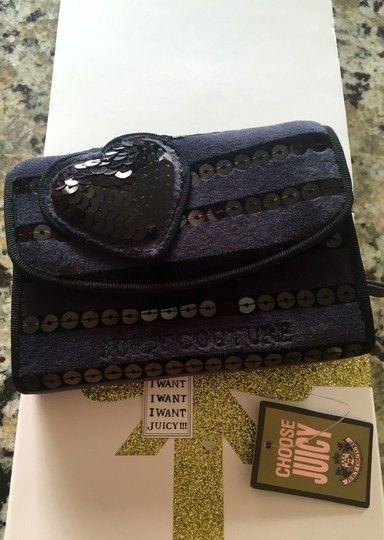 Juicy Couture NEW AUTHENTIC JUICY COUTURE SEQUIN STRIPE DAMSEL WALLET
