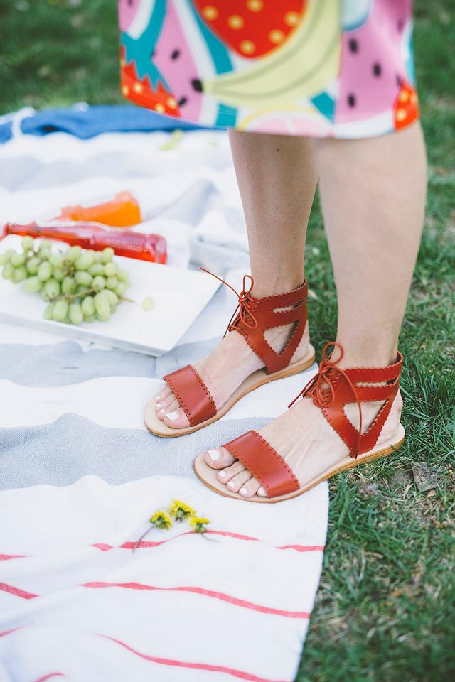 9ede3e8576f Matisse Red Natasha Gladiator-like Sandals. Size  US 8 Regular (M ...