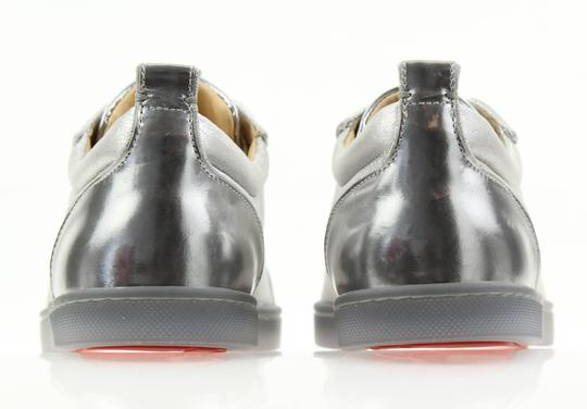 Christian Louboutin Gondolastrass Trainer Sneaker Flat Crystal SIlver Athletic Image 2