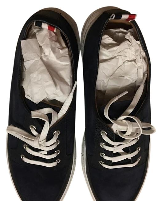 Item - Navy Sneaker Platforms Size EU 45 (Approx. US 15) Wide (C, D)