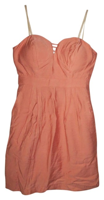 Preload https://item4.tradesy.com/images/bcbgeneration-bellini-peach-above-knee-short-casual-dress-size-0-xs-2210538-0-0.jpg?width=400&height=650