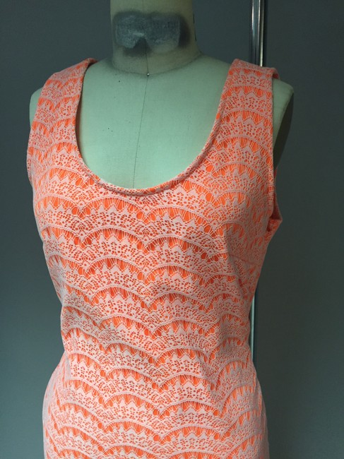 House of Harlow 1960 Urban Outfitters Neon Mini Crochet Dress