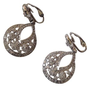 Nolan Miller Nolan Miller Clip On CZ Earrings