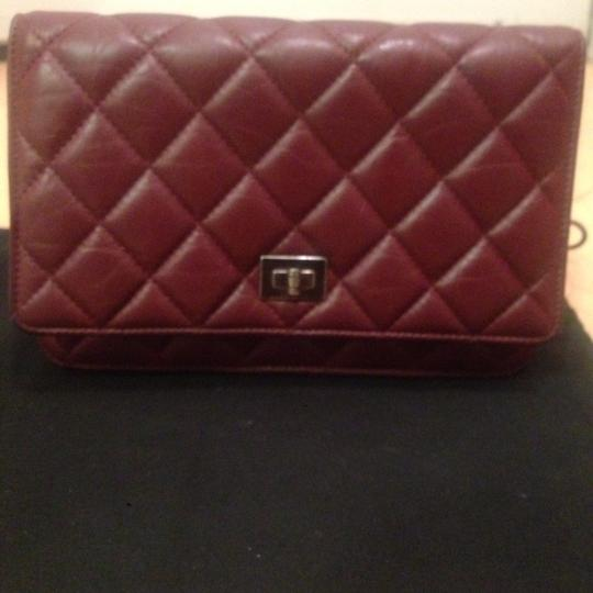Chanel Woc Reissue Red Red Reissue Red Woc Cross Body Bag