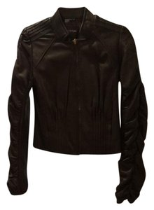 MM Couture black Leather Jacket