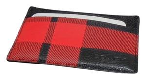 Coach black and red Clutch