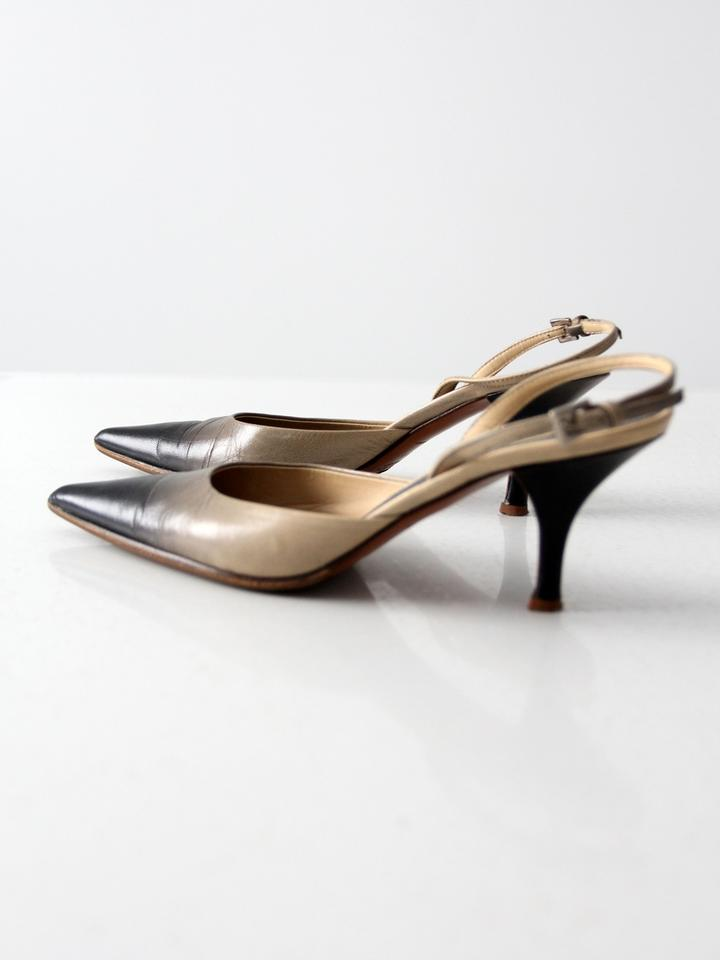 how to tell a fake prada bag - Prada Slingback Ombre Leather Grey Pumps on Sale, 50% Off | Pumps ...