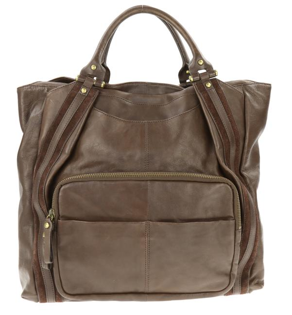 Item - Extra Large Brown Leather Tote