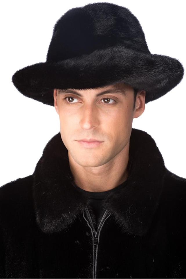 0bb0fb901894e Black Mens Mink Fur - Mens Mink Fedora Hat - Tradesy