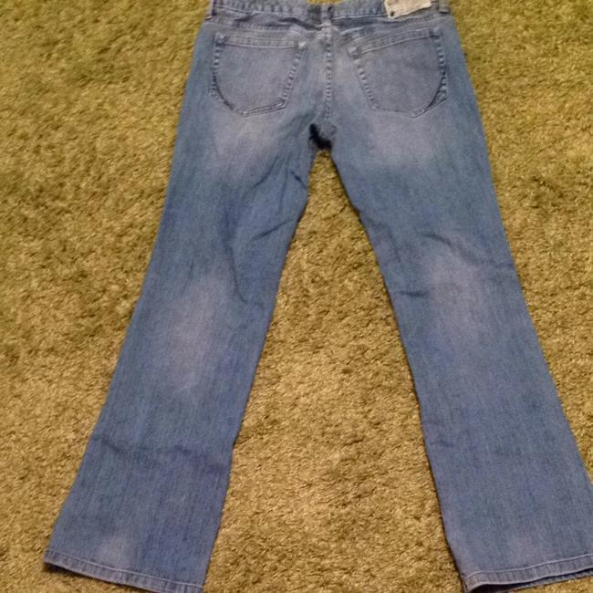 Converse Size 8 Boot Cut Jeans-Medium Wash