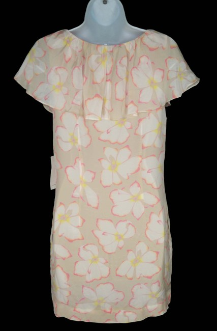 Leifsdottir short dress Silk Floral Romantic Satin on Tradesy
