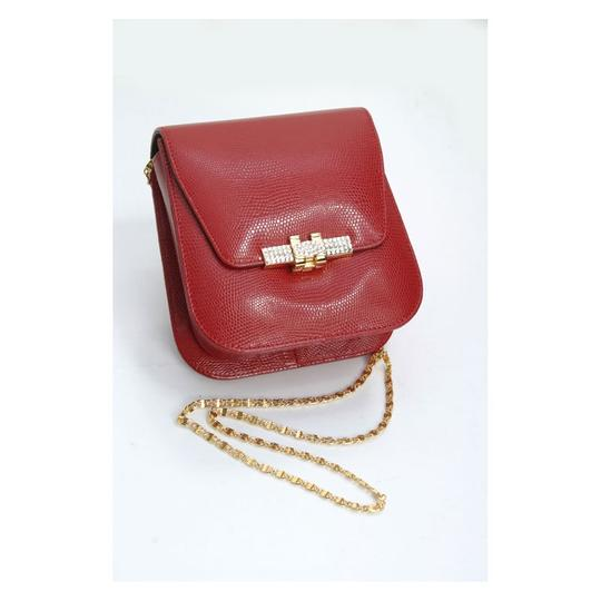 madisonavemall Womens Bags Womens Acessories Red Clutch Image 0