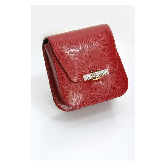 madisonavemall Womens Bags Womens Acessories Red Clutch Image 2