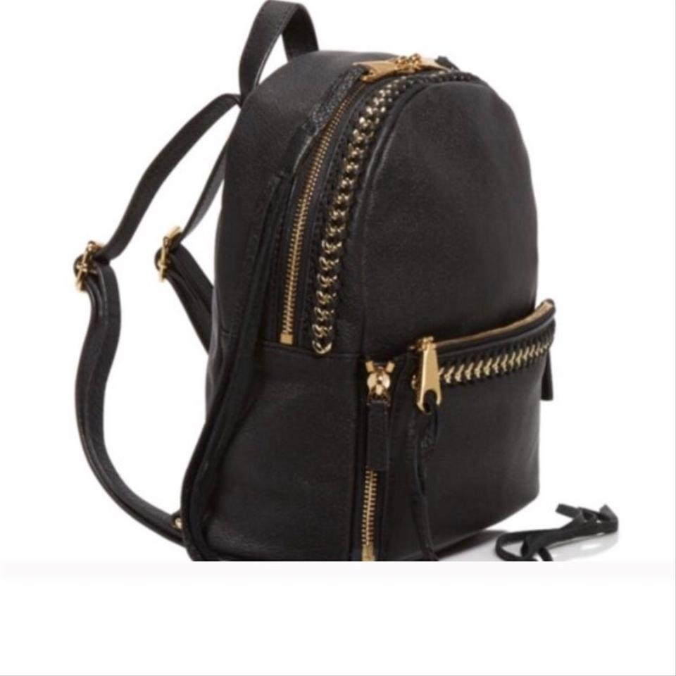 9dd0aadb00 Black Backpack With Gold Chain- Fenix Toulouse Handball