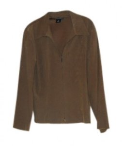 Briggs Of New York Style #606-e 17 brown suede Jacket