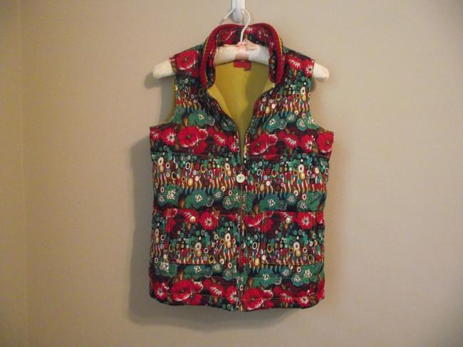 Oilily Small Floral Vest Image 2