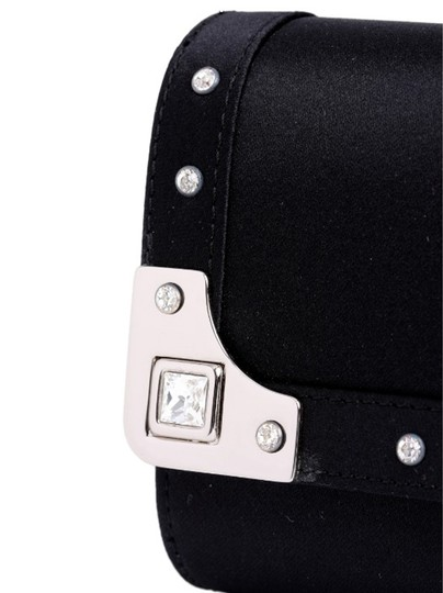 madisonavemall Womens Bags Womens Acessories Black Clutch Image 1