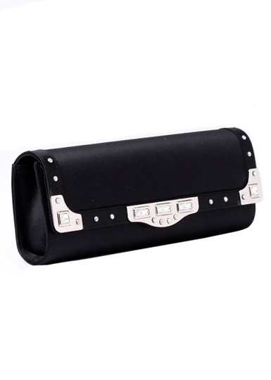 madisonavemall Womens Bags Womens Acessories Black Clutch Image 2