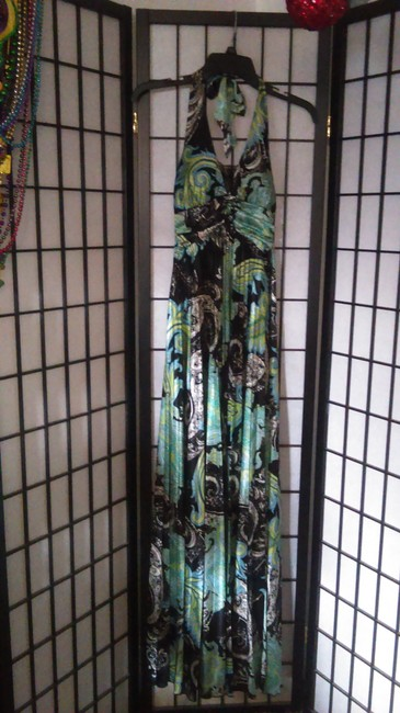 Green/Black Maxi Dress by Speechless Image 1