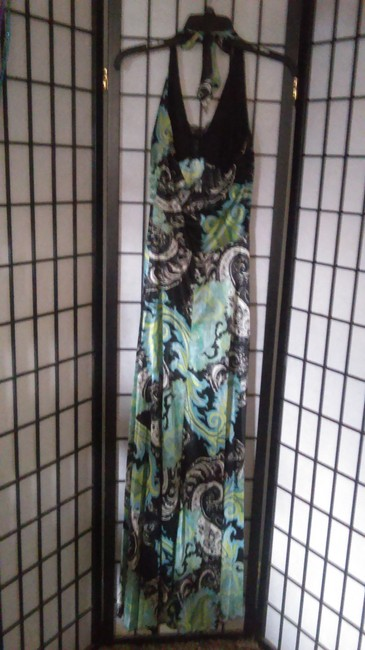 Green/Black Maxi Dress by Speechless Image 4