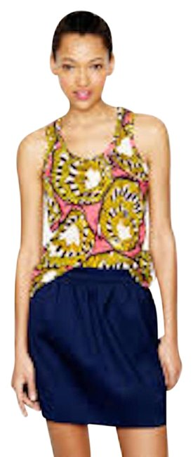 Item - Pink Brown White Yellow Ratti Electric Kiwi Tank Top/Cami Size 6 (S)