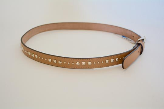 Gucci NWT GUCCI STUDDED LEATHER SKINNY BELT SZ 36 90 MADE IN ITALY Image 2