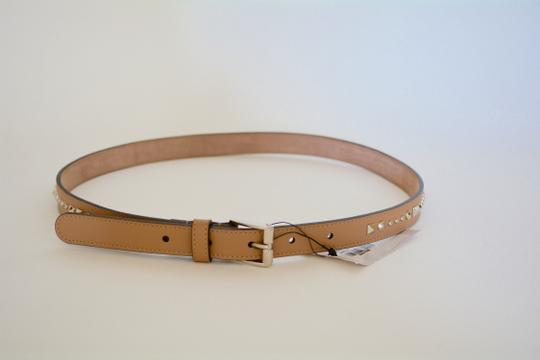 Gucci NWT GUCCI STUDDED LEATHER SKINNY BELT SZ 36 90 MADE IN ITALY Image 4