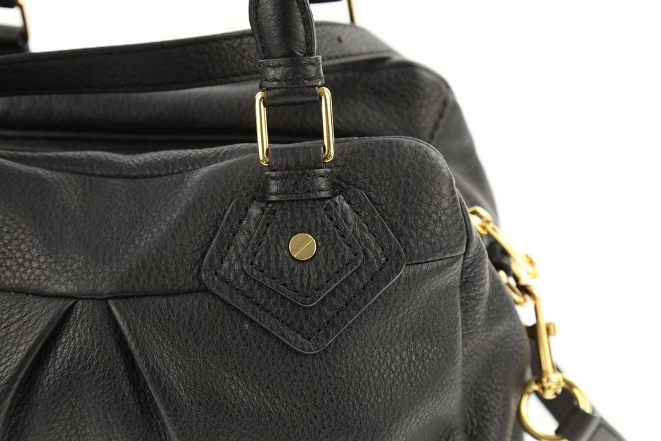 1eea040f2654 Marc by Marc Jacobs Small Groovee Classic Black Leather Satchel ...