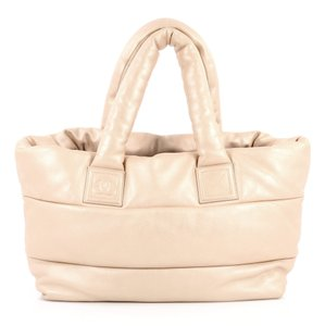 Chanel Leather Tote in Champagne