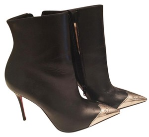 Christian Louboutin Leather Leather Black Boots