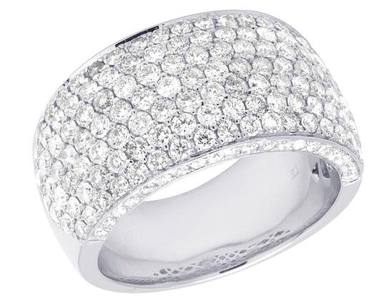 Preload https://img-static.tradesy.com/item/22109166/jewelry-unlimited-14k-white-gold-men-s-diamond-iced-band-4-ct-13mm-ring-0-0-540-540.jpg