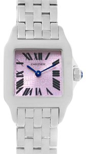 Cartier Cartier Santos Demoiselle Purple Dial Small Ladies Watch W2510002