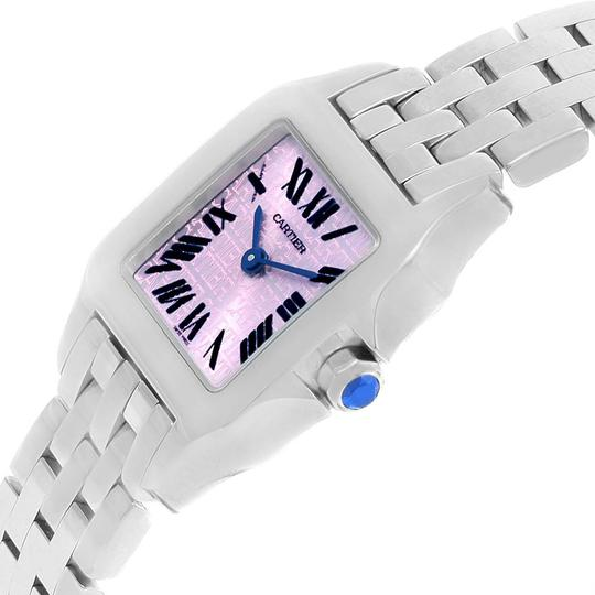 Cartier Cartier Santos Demoiselle Purple Dial Small Ladies Watch W2510002 Image 1