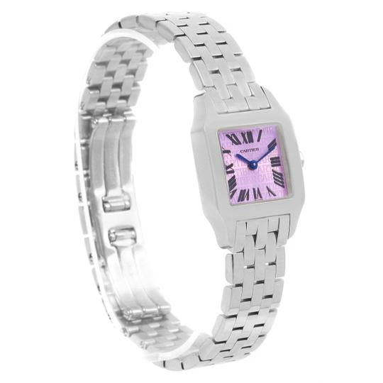 Cartier Cartier Santos Demoiselle Purple Dial Small Ladies Watch W2510002 Image 2