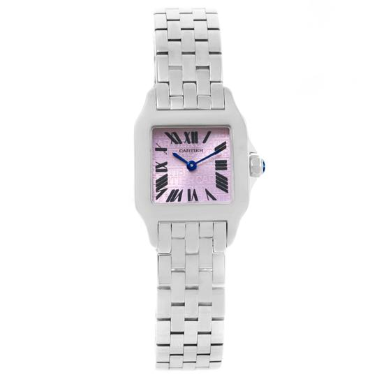 Cartier Cartier Santos Demoiselle Purple Dial Small Ladies Watch W2510002 Image 4
