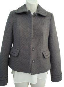 Boden Wool purple gray Jacket